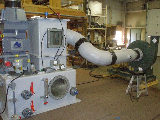 FRP-Particulate-Scrubber-System